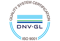 Quality System Certification DNV-GL | ISO 9001